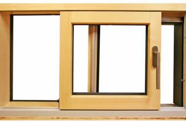 Fenêtre coulissant levage bois alu